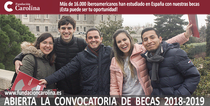 Becas Fundacion Carolina 2018-2019